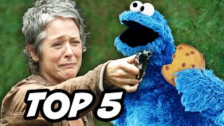 Walking Dead Season 5 Episode 13 - Carol's Cookies TOP 5 WTF