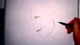 drawing Lord Voldemort (first try)