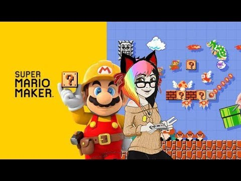Thirsty Thurs! ♥Cup head Simple/ Viewer Lvs! Mario Maker♥ pt47-Live Stream!! (Drink here :D)