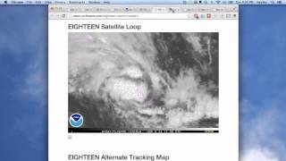 Mar 9 - severe weather tv - Cyclone Gillian and Hadi, future Tropical Storm Lusi