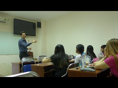 A DAY IN THE LIFE OF TEACHING ENGLISH IN VIETNAM