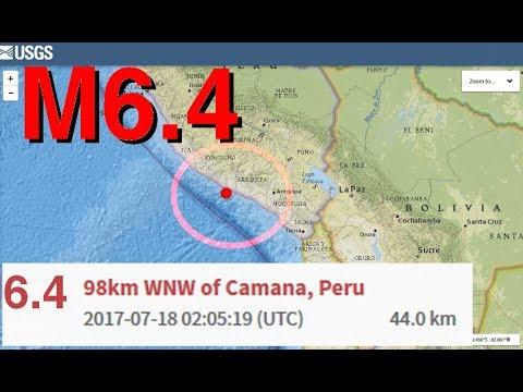 M6.4 PERU CENTRAL (((ALERTA ANTIPODAL))) ASIA