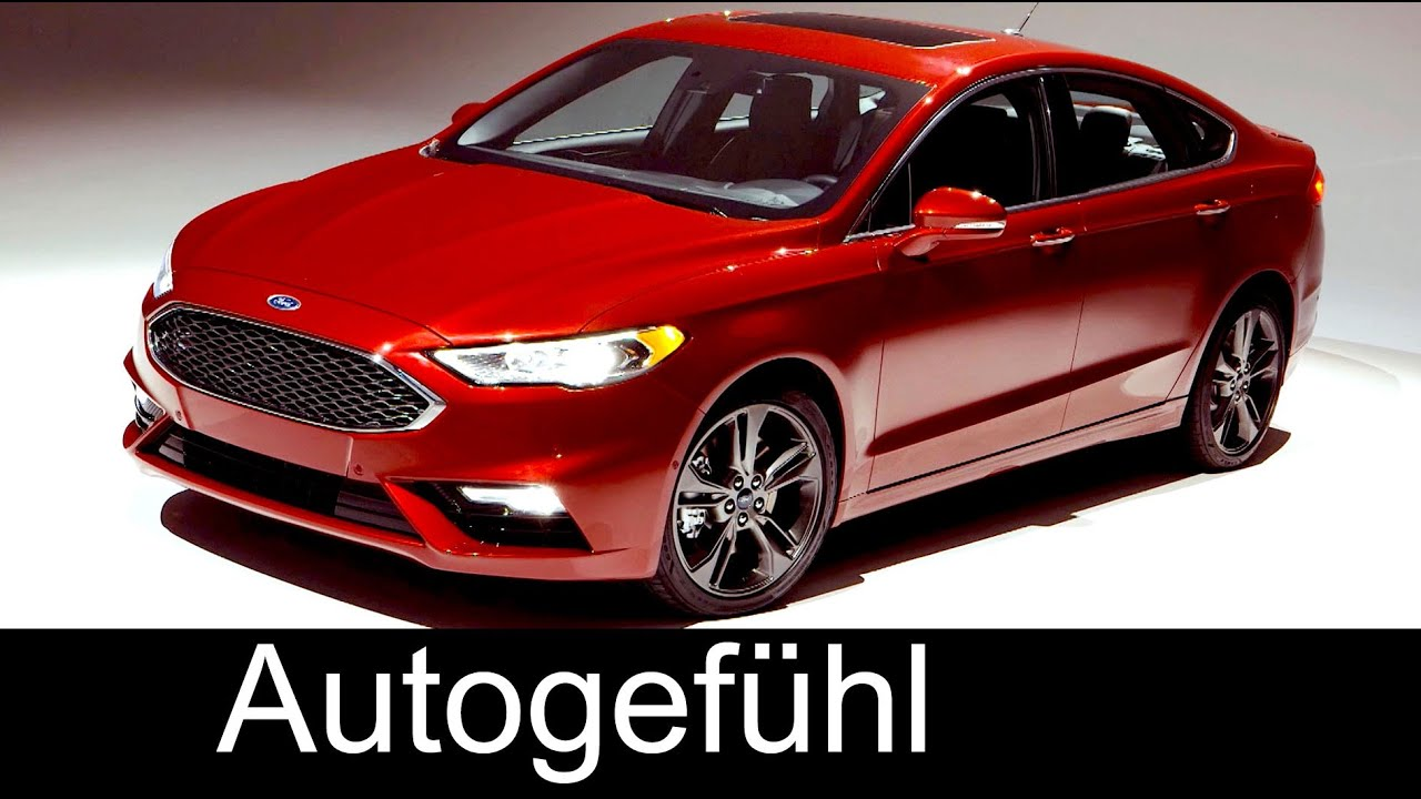 2017 new ford fusion sport ford mondeo facelift exterior interior preview neu autogef hl. Black Bedroom Furniture Sets. Home Design Ideas