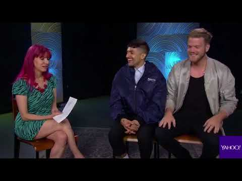 Yahoo music's Facebook -Superfruit featuring Scott and Mitch from Pentatonix-