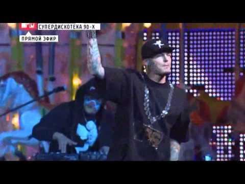 Vanilla Ice -Ice Ice Baby _ Live _Moscow SuperDiscoteka 90