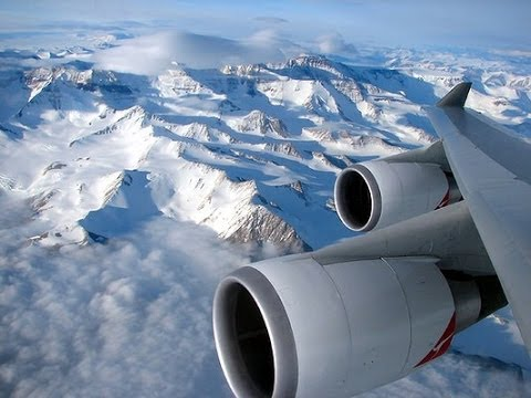 Antarctica New Year Flight