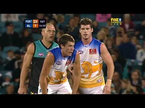 2008 AFL Round 4 Port Adelaide Power v Brisbane Lions (Full Game)
