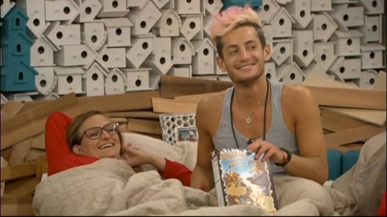 7/28 10:37pm - talking about masterbation & zach wonders if being