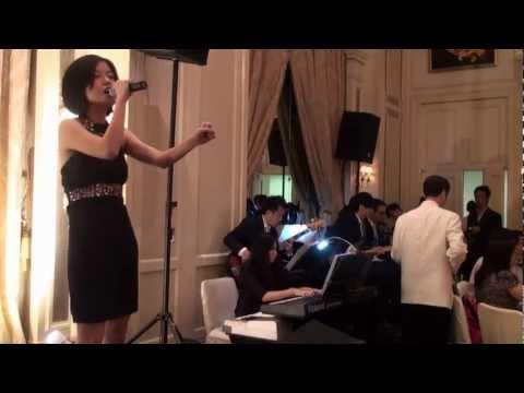 WEDDING BAND: Deans LIVE Music Hong Kong HK - A Moment Like This@The Peninsula 2011