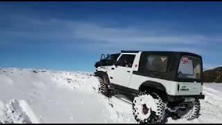 SUZUKI SAMURAI EXTREME SNOW 🏂 ❄️ 🐧 TT
