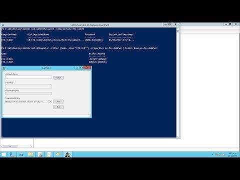 Instalar y Configurar LAPS v6.2 en Windows Server 2012