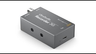 New! Blackmagic Design Ultrastudio Recorder 3G - Zoom/OBS/vMix Ingest