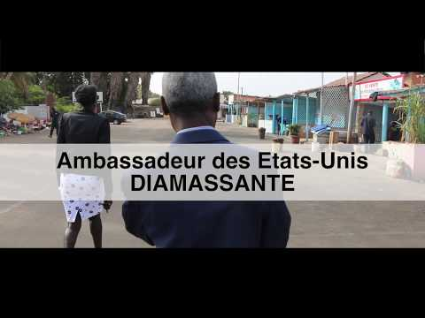 Diamasante - l'Ambassadeur Mushingi a rendu une visite de courtoisie aux voisins