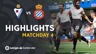 Highlights SD Eibar vs RCD Espanyol (1-2)