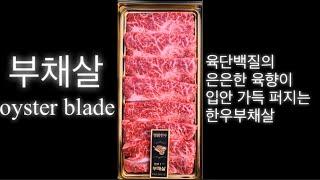 송도명품한우 선물세트 부채살(Oyster blade)+…