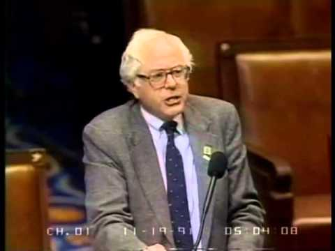 Why Do We Spend So Much Money on Defense? Bernie Sanders on Reinvesting in America (1991)