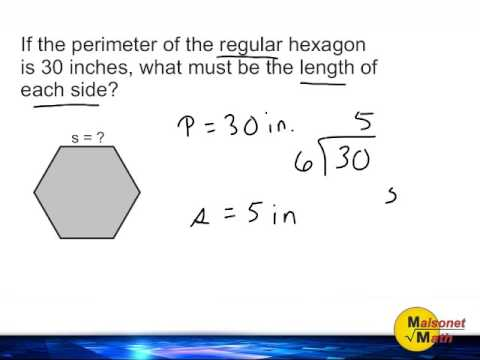 Find missing side length of a regular polygon given the perimeter find missing side length of a regular polygon given the perimeter ccuart Image collections