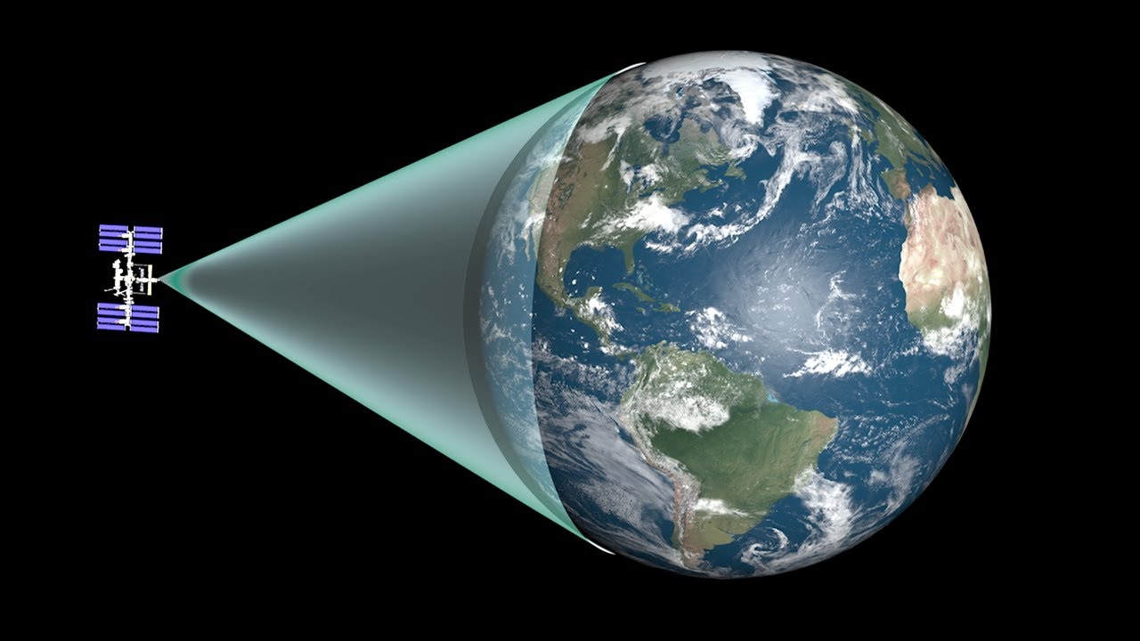 how much of the earth can you see at once youtube