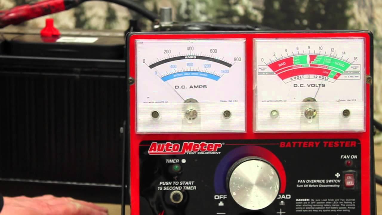 Cartoon Battery Tester : Carbon pile test group funnydog tv