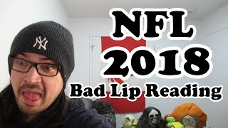 """Pothead Reacts 2 """"NFL 2018"""" — A Bad Lip Reading of the NFL LIVE"""