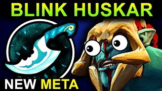 BLINK DAGGER HUSKAR DOTA 2 PATCH 7.06 NEW META PRO GAMEPLAY