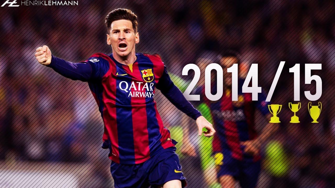 984aaca9 Lionel Messi ○ 2014/15 ○ Goals, Skills & Assists - YouTube