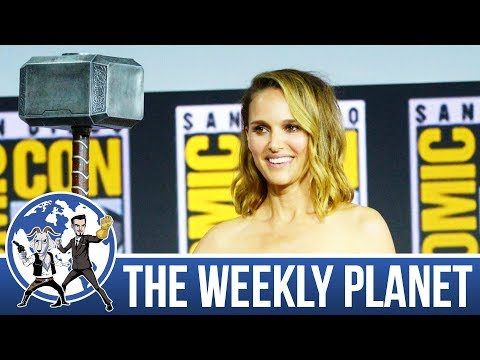 Comic Con 2019 & Marvel Phase 4 - The Weekly Planet Podcast