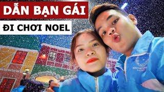 1 ngày dẫn bạn gái đi chơi Noel (Oops Banana Vlog #87)