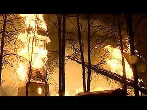 В Иванове сгорела церковь XVII века