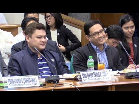 Paolo Duterte, Mans Carpio won't sign bank secrecy waiver
