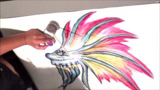 Video 1.How to draw a naga (warcraft) - TIME-LAPSE drawing download MP3, 3GP, MP4, WEBM, AVI, FLV Agustus 2018