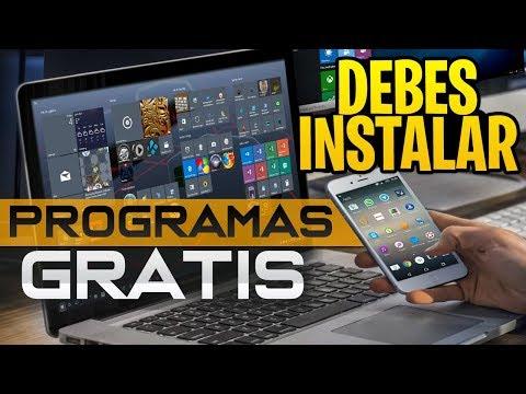 Los Mejores Programas para PC Gratis / 2018 / ( Que DEBES Instalar )