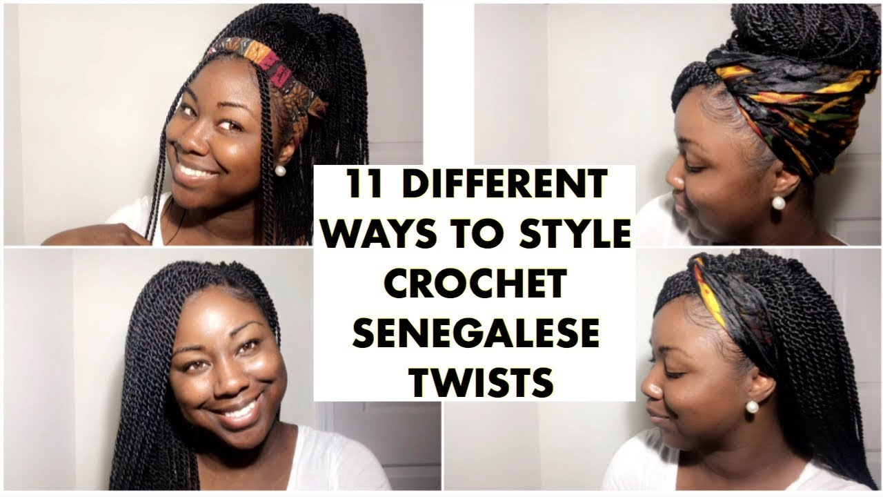 How To Style Crochet Braids Senegalese Twists Crochet Braids
