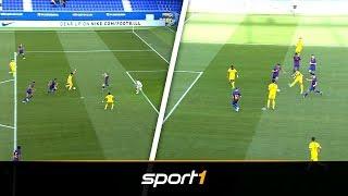 Spiel gedreht! Moukoko und BVB-Bubis entzaubern Barca | SPORT1 - YOUTH LEAGUE