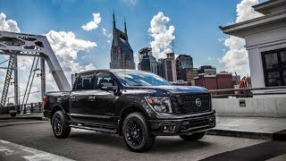 2018 Nissan Titan, Titan XD And Frontier Midnight Editions Debut
