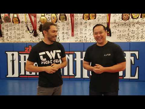 Zhong Luo Cage Fighting Series 02/MFC Nate Montano Pro debut pre fight interview.