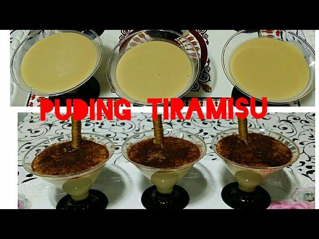 Resep Puding Tiramisu Lembut Dan Nikmat