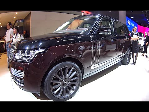 2016, 2017 Range Rover Autobiography new 2016, 2017 model