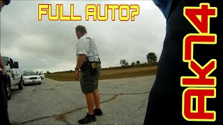 """AK74, Cops called out  for """"Full auto"""""""