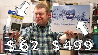 Cheap vs Expensive Wireless Water Level Monitors Unboxing (Rain Harvesting & Cisterns)
