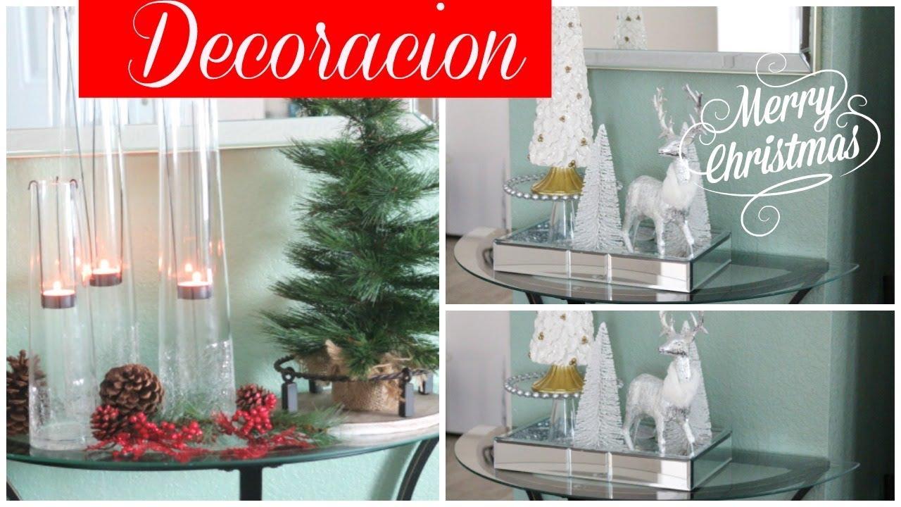 Como Decorar Mi Casa Para Navidad.Ideas Bonitas Para Decorar Mi Casa En Navidad Silvia En Tu Vida