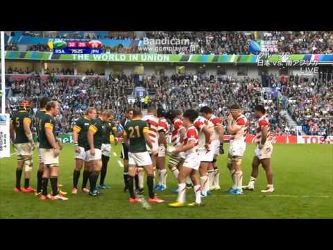 逆転勝利に感動!【Last 10min】Rugby World Cup 2015 Japan vs South Africa