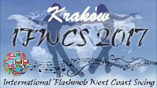 KRAKÓW, Poland International Flashmob West Coast Swing 02.09.2017_HD
