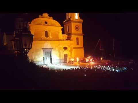 Luminaria di San Domenico, Praiano Costa Amlfitana