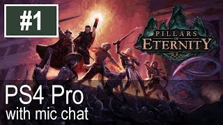 Pillars Of Eternity PS4 Pro Gameplay (Let