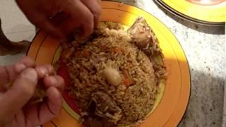 Как готовить узбекский плов дома №19(Рецепт нашего друга Витька - как готовить настоящий узбекский плов в домашних условиях. Видео №19., 2013-12-24T04:07:59.000Z)