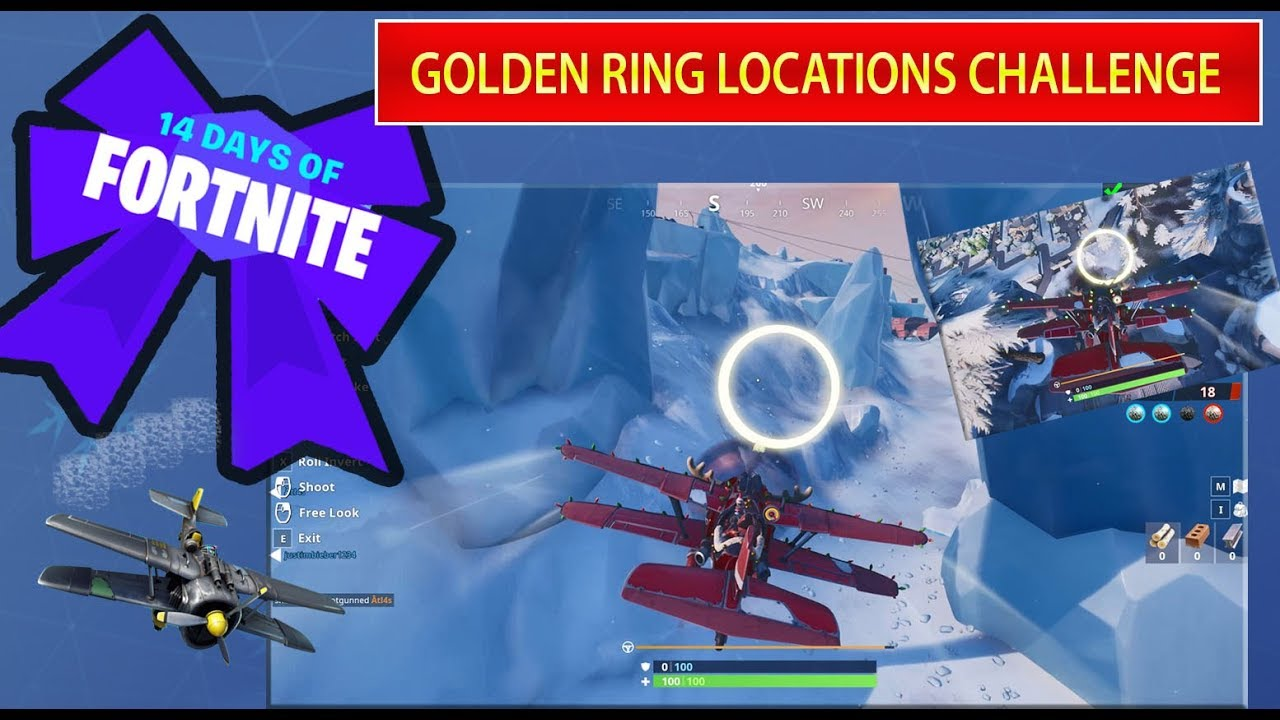 Fly Through Golden Rings In An X 4 Stormwing Plane Locations