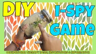 How to make an I-spy game | Fun and calming kids activity | Visual Perception