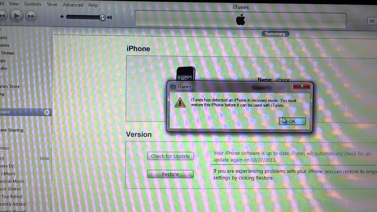 factory reset iphone 4 restore iphone 4 after restore to factory setting 14069