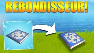 [Fortnite] ON TESTThe REBONDISSEUR - GENIAL INVENTION!!! PS:ENLEVER YOUR CASQUE IN FIN MDR